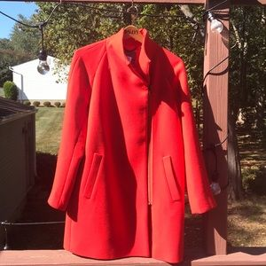 J Crew Stadium cloth Wool Cocoon Coat 10